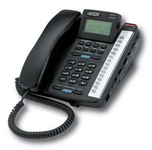 Cortelco ITT-2220BK 2-Line Phone